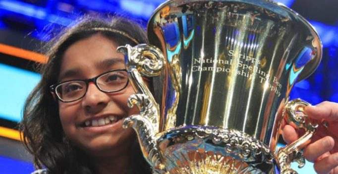 US: Indian-American Ananya Vinay wins Scripps National Spelling Bee contest