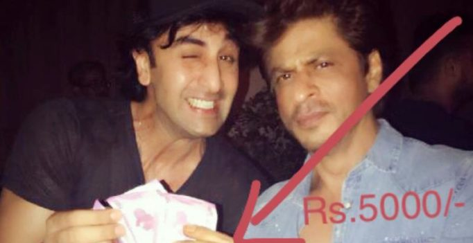 SRK didn't just pay Ranbir Rs 5000 for film title, also gave him a special bonus