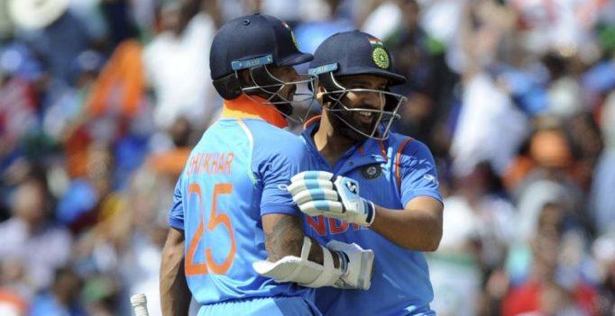 Rohit Sharma, Shikhar Dhawan's performance gave me confidence, says Virat Kohli