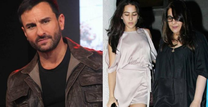 Saif reacts to reports of ex-wife Amrita blasting him over comments on Sara's debut