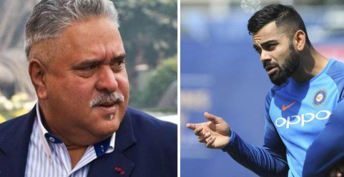 ICC Champions Trophy: Team India avoids Vijay Mallya at Virat Kohli event