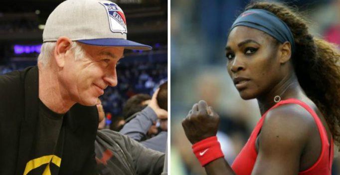 John McEnroe regrets 'no. 700 on men's tour' remark against Serena Williams