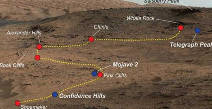 NASA Curiosity digs up evidence of diverse environment on Mars