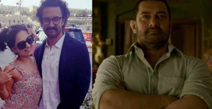 Pics: From 98 kgs to 70, Aamir's amazing body transformation for Thugs of Hindostan