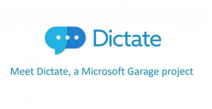 Now tell your PC what to write using Microsoft's Dictate