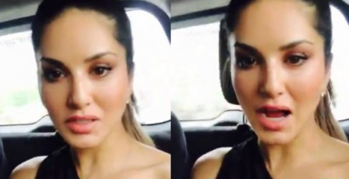 'Thank God we are alive': Sunny Leone after her plane almost crashed