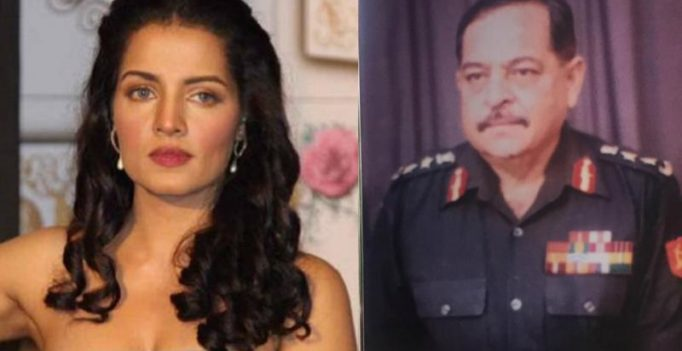Celina Jaitly writes emotional post on her father's death