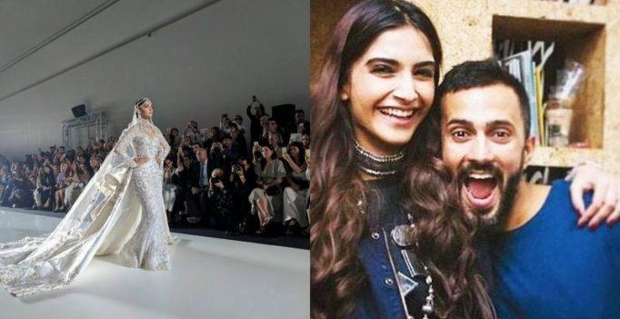 Sonam's rumoured boyfriend Anand Ahuja reacts to her glaring Paris show look