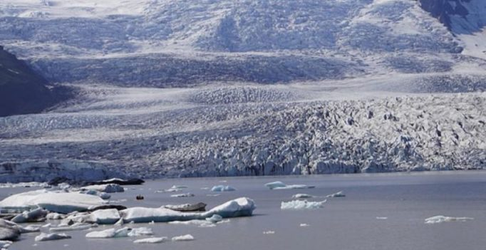 Greenland ice sheet melting faster