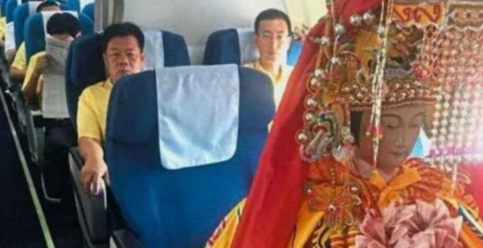 Photo of this idol flying business class goes viral