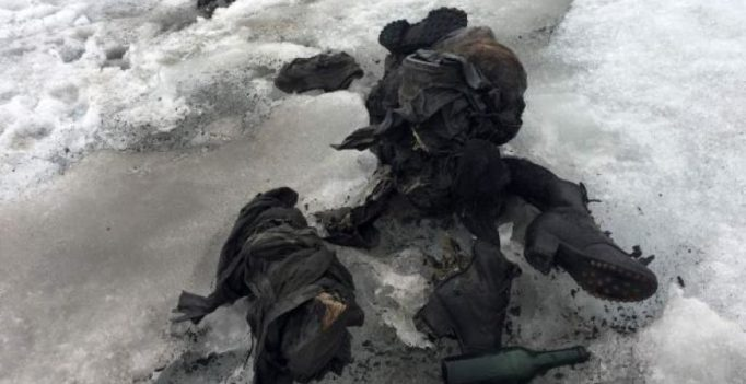 Swiss couple who disappeared 75 years ago found preserved in glacier