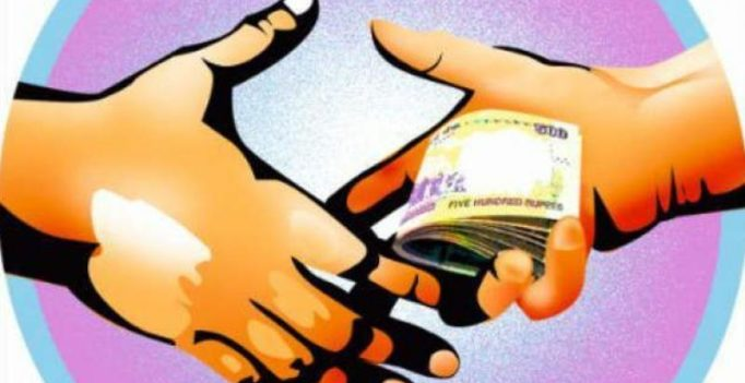 Rajahmundry: Panchayat engineer caught taking bribe