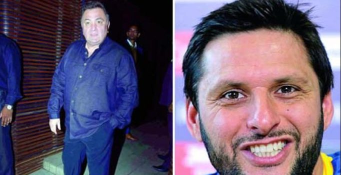 Rishi Kapoor trolled, Shahid Afridi patted