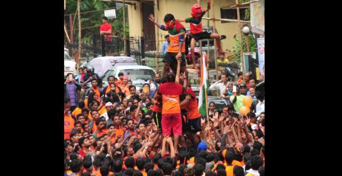 Mumbai: Over 45 people injured during Dahi Handi celebrations