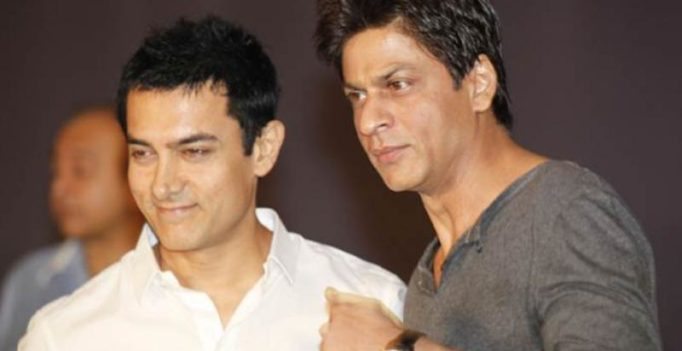 Shah Rukh and Aamir bonding over their films on Twitter is endearing!