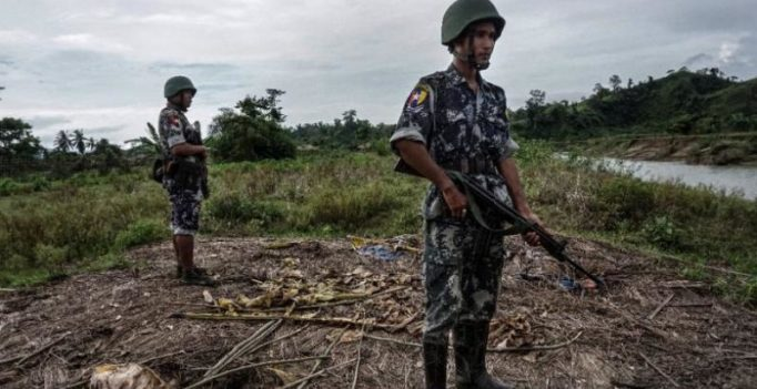 At least 71 killed in militant attacks on police, border posts in Myanmar
