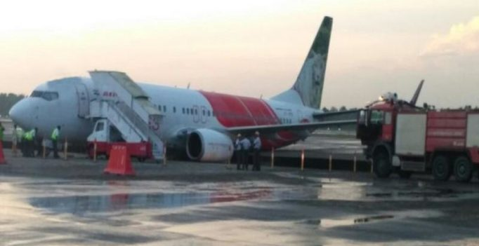 Air India plane veers off taxiway at Kochi airport, all passengers safe