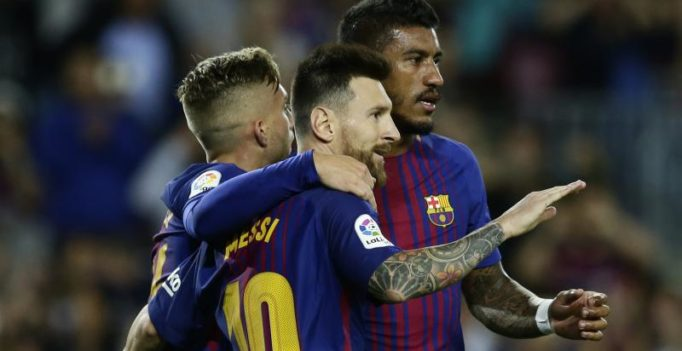 Watch: Magical Lionel Messi hits 4 as FC Barcelona thrash Eibar in La Liga encounter