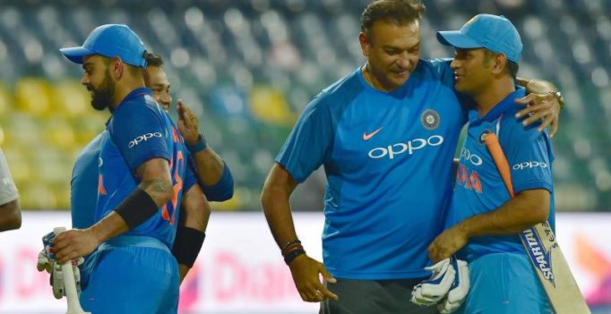 Here's what Virat Kohli-led Team India's head coach Ravi Shastri said about MS Dhoni