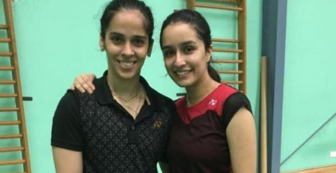 Watch: Saina Nehwal trains Shraddha Kapoor for upcoming biopic at Gopichand Academy