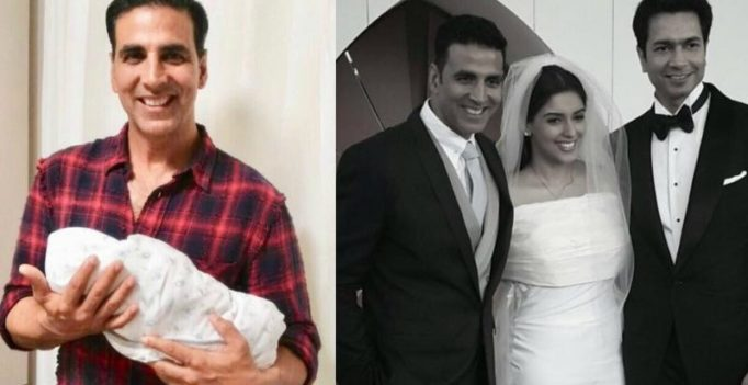 Akshay Kumar, who played cupid for Asin-Rahul, shares first glimpse of their baby