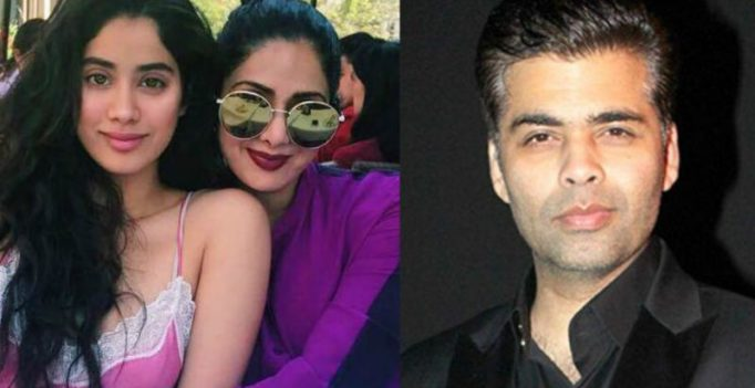 Jhanvi Kapoor upset with Karan Johar over debut, asks mom Sridevi to intervene