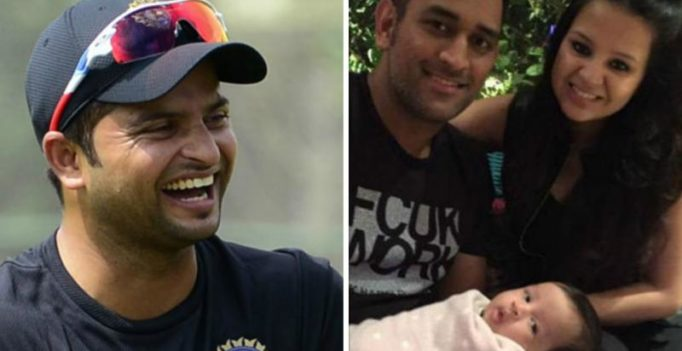 When Sakshi Dhoni contacted Suresh Raina to tell MS Dhoni about daughter Ziva's birth