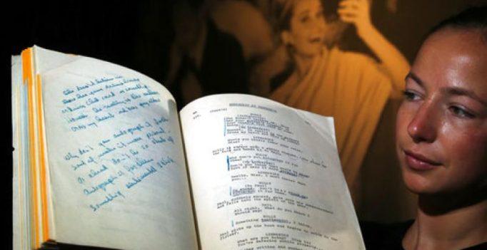 Audrey Hepburn's personal copy of 'Breakfast at Tiffany' script sells for £630,000