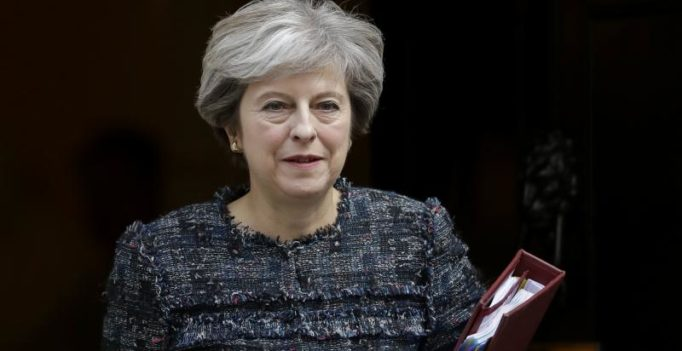 May reaffirms UK's commitment to Iran nuclear deal during call with Trump