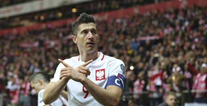 2018 FIFA World Cup qualifiers: Robert Lewandowski helps Poland seal qualification