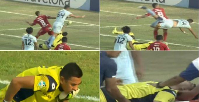 Watch: Persela Lamongan goalkeeper Choirul Huda dies after collision with teammate