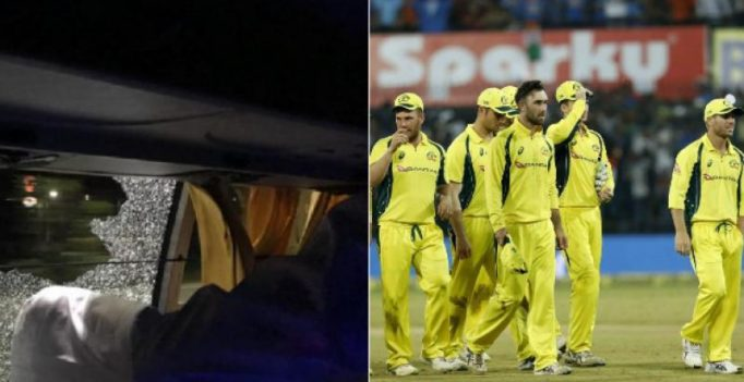 Police arrests 2 over Australian cricket team bus attack post Guwahati T20 vs India