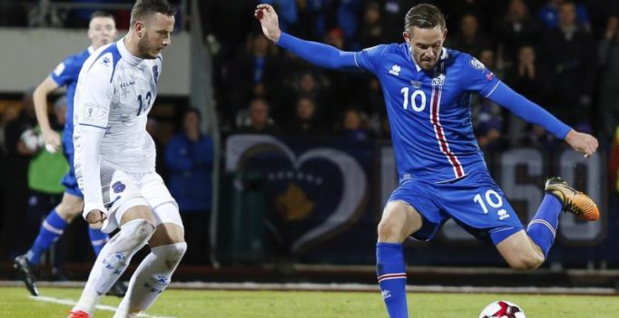 2018 FIFA World Cup: Gylfi Sigurdsson scores as Iceland beat Kosova to qualify