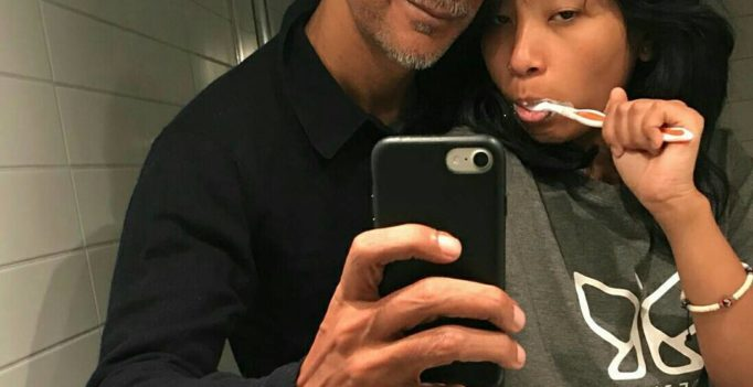 Milind Soman is unaffected by trolls, posts new selfie with 18-year-old GF