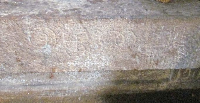 Inscribed land measure in 13th century temple found near Tiruchy