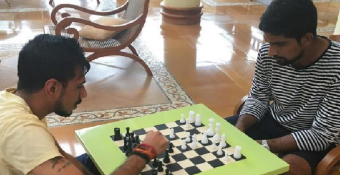 Checkmate! Indian leggie Yuzvendra Chahal outsmarts NZ's Ish Sodhi in a game of chess