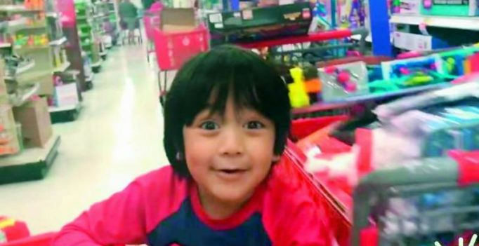 6-year-old kid earns $11 million, makes it to Forbes list