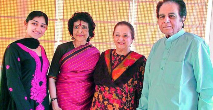 A quiet birthday for Dilip Kumar after being diagnosed mild pneumonia?