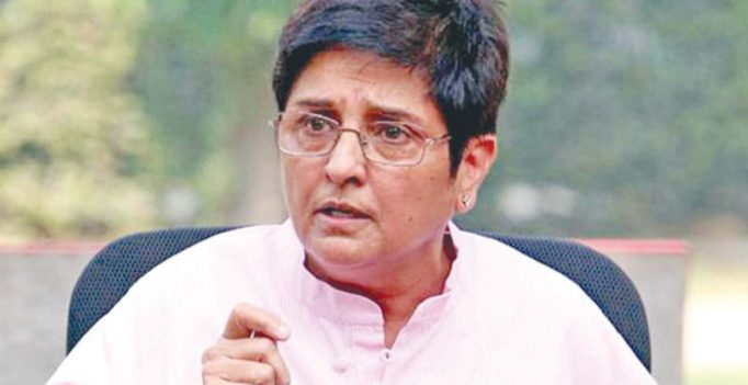 Create data base of service personnel: Kiran Bedi