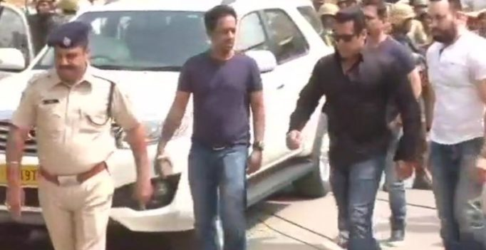Salman Khan gets 5-yr jail in blackbuck poaching case, other actors let off