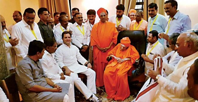 She floors Rahul, not CM… on religion tag! Rahul quizzed on Lingayat tag