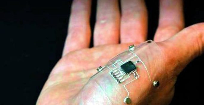 Scientists 3D print electronics on hand