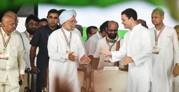 Democracy in danger under Modi's regime: Former PM Manmohan Singh