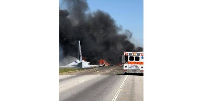 9 killed in US military cargo plane crash
