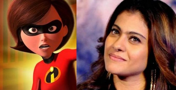 Kajol to voice Helen Parr aka Elastigirl in 'Incredibles 2'