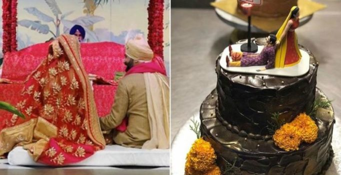 Sonam Kapoor's wedding cake and venue is sure to make you smile