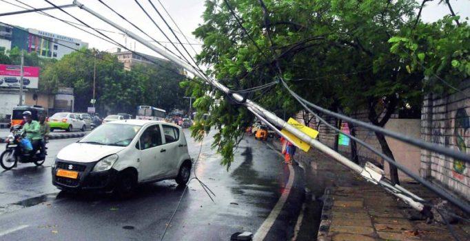 Telangana: Thunderstorm kills 2; 129 trees uprooted