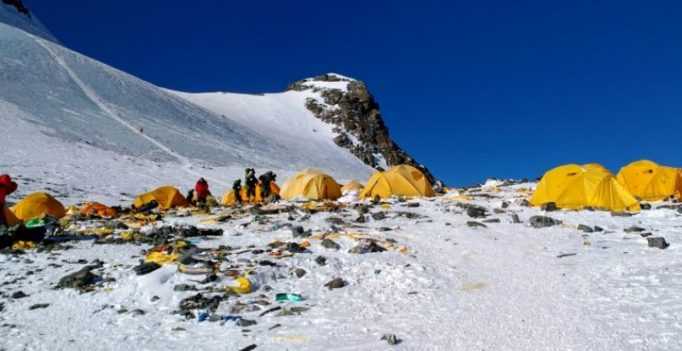 Mount Everest has turned into 'world's highest rubbish dump'