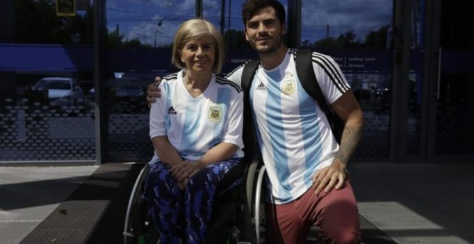 Nora, nothing stops this wheelchair-bound Messi fan from rooting for star in Russia