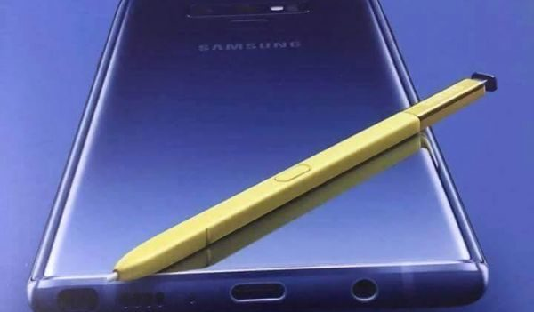 Galaxy Note 9 with advanced S Pen leaked in official poster
